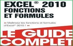 """Livre PDF """" Maîtrisez les fonctions et formules d'Excel """""""