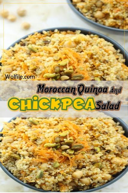 Moroccan Quinoa And Chickpea Salad Recipe