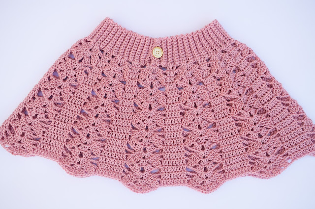 1 - Crochet imagen Falda a crochet para todas las tallas ganchillo paso a paso facil sencillo por Majovel Crochet