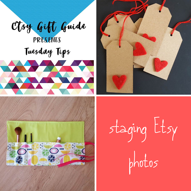 Tuesday Tips: staging Etsy photos