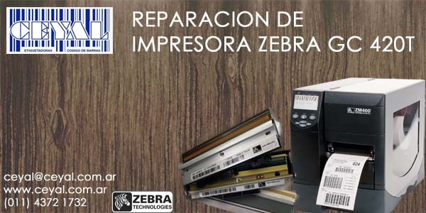 servicio tecnico etiquetadora Zebra