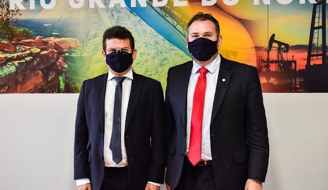 Prefeito Juninho Alves busca em Brasília liberação da área livre da mosca branca para alavancar fruticultura