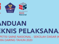 PANDUAN TEKNIS PELAKSANAAN KSN SD SECARA DARING TAHUN 2020