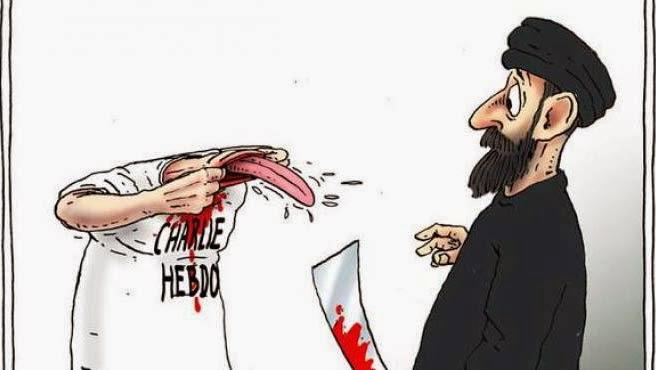 Viñeta Charlie Hebdo