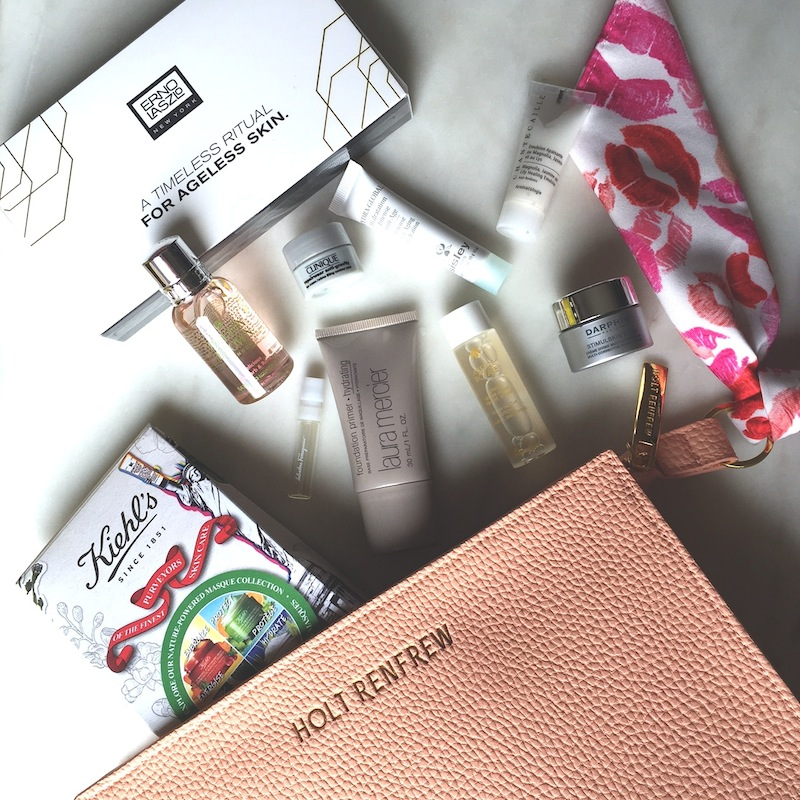 Holt Renfrew Spring 2016 beauty bag: A quick review