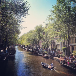 keliling kanal di amsterdam