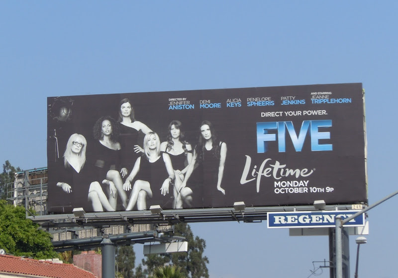 Five Lifetime billboard