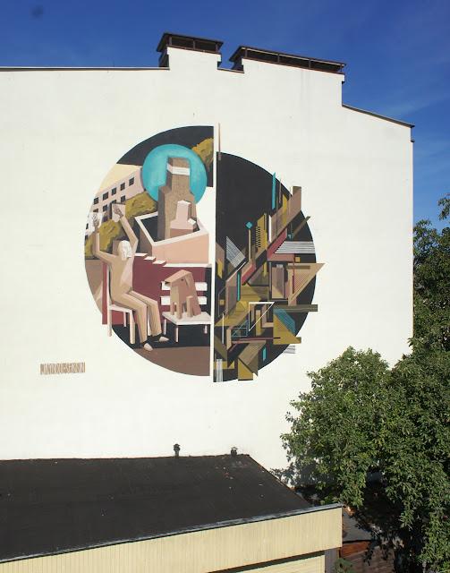 Street Art Collaboration By Jacyndol And Seikon In Gdynia, Poland. 3