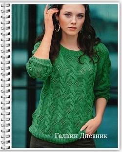 jenskii-pulover-spicami | knitting-pullover | pulover-prutkamі | pulover-spicyami