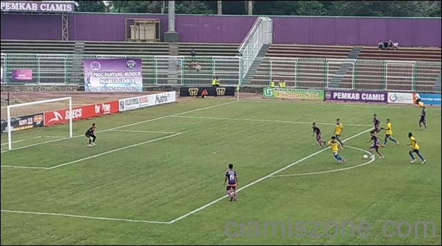 Gol Tangan Tuhan PSGC Dianulir Wasit, Tundukan Cilegon United 2-0