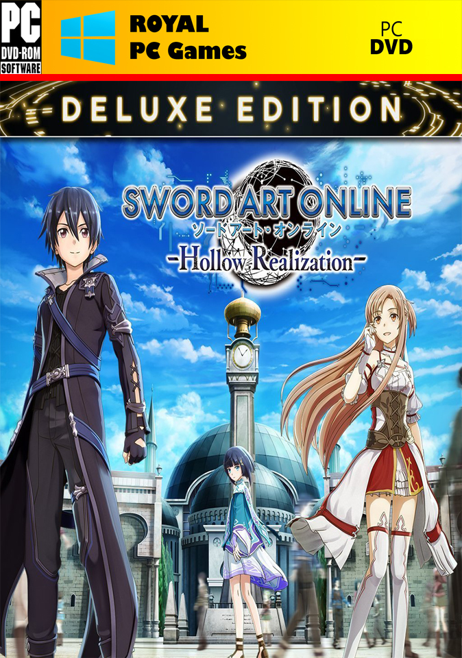 pc games hardware and software sword art online hollow realization deluxe edition. Black Bedroom Furniture Sets. Home Design Ideas