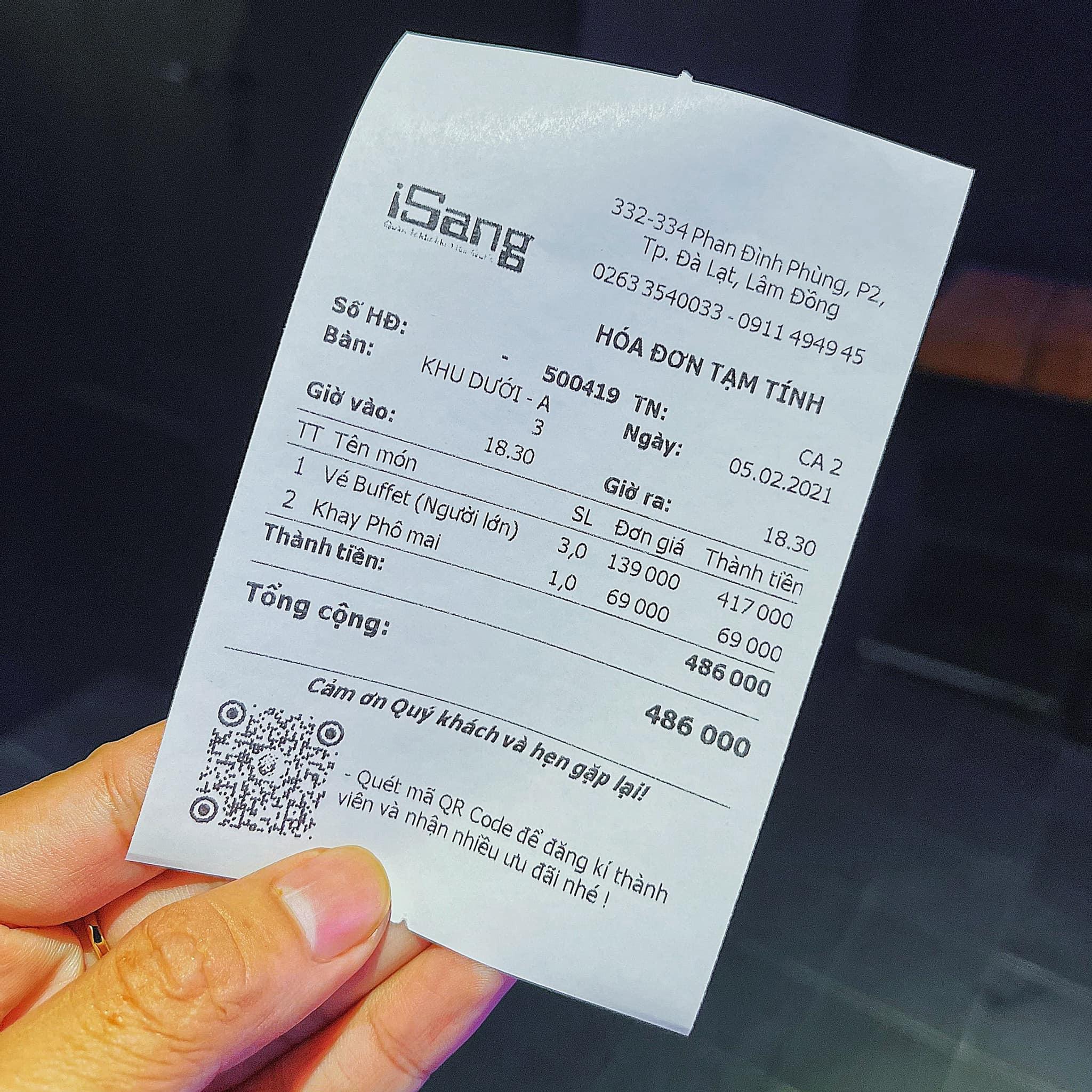 iSang Tokbokki Sarang - Buffet tokbokki Đà Lạt 139k