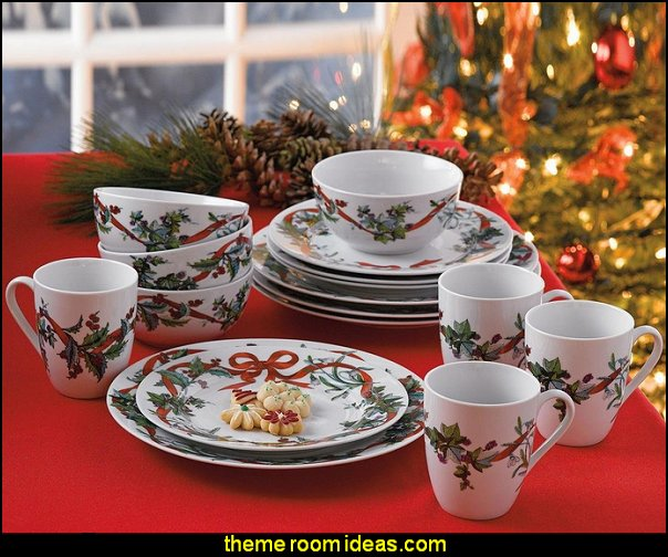 Christmas Dinnerware sets