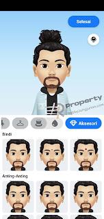 cara membuat foto avatar