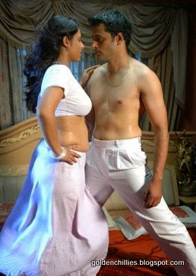 Aunty Navel Touching In Item Song Shooting Desi Aunty First Night
