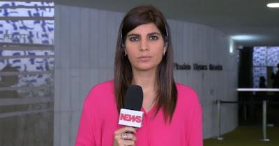 Jornalista da Globo News é  atacada na web após comentar caso envolvendo Aécio Neves