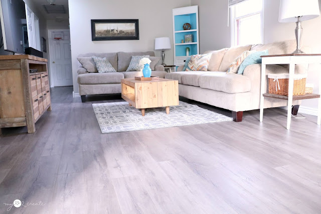 this laminate changed the look and feel of my home