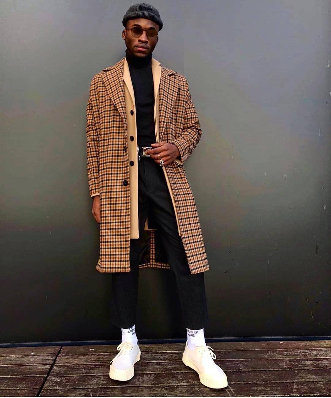 Men's Plaid Coats