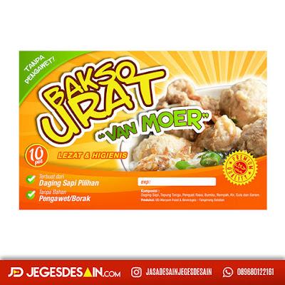 Jasa Desain Stiker Kemasan Online Shop (Bisa Cetak Juga) - Jegesdesain.com