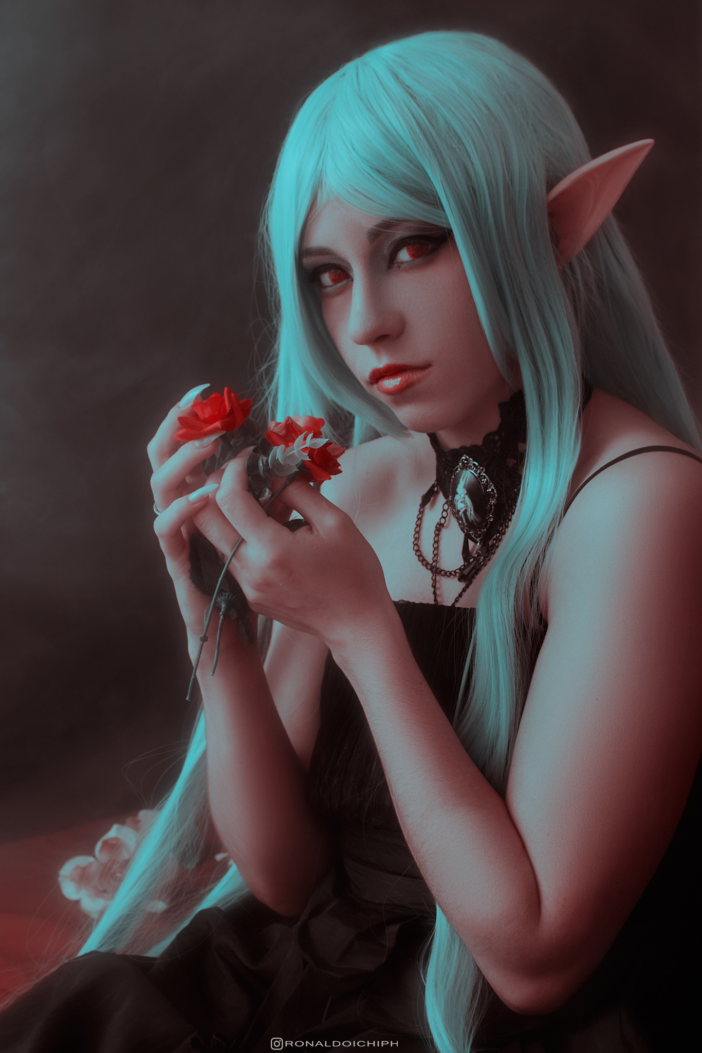 Elves - Gothic Elven photography with the model Kath and photography by Ronaldo Ichi