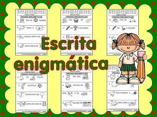 Alfabetização escrita enigmática