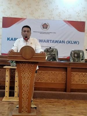 PWI Banten,Adakan KLW Dan UKW : Upaya Tingkatkan Kompetensi Wartawan