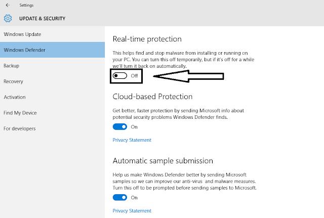Cara Menonaktifkan Windows Defender Pada Windows 10, cara mematikan windows defender, kegunaan windows defender, pengertian windows defender