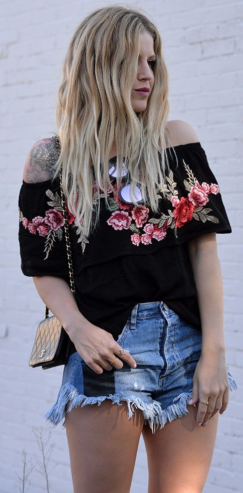 15 Rose Embroidered Pieces Of Clothing That You Basically Need Right This Second
