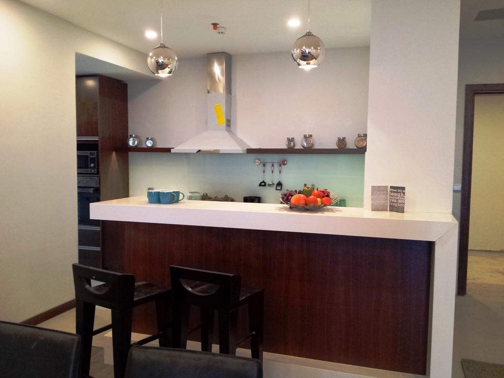 Thiết kế khu bếp tại chung cư Taseco Complex