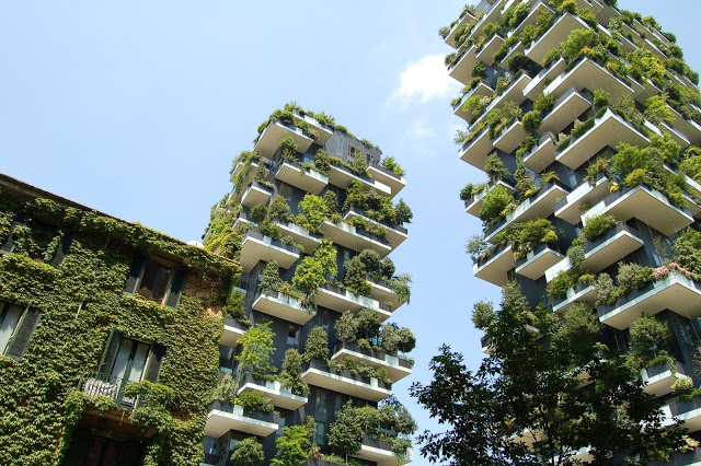 Green Building or Sustainable Building Concept
