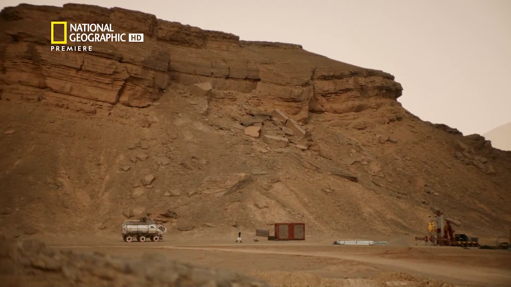National Geographic's MARS - episode 3, season 2
