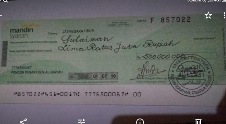 Diduga Memalsukan Kop Surat Stempel Dan Mencatut Nama Pejabat Bank Mandiri Ahmad Malik Adiyan Akan Dilaporkan Polisi Jurnal Media Indonesia