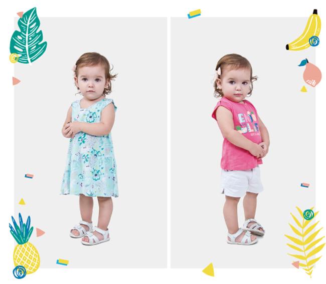 Vestidos para niñas verano 2018.