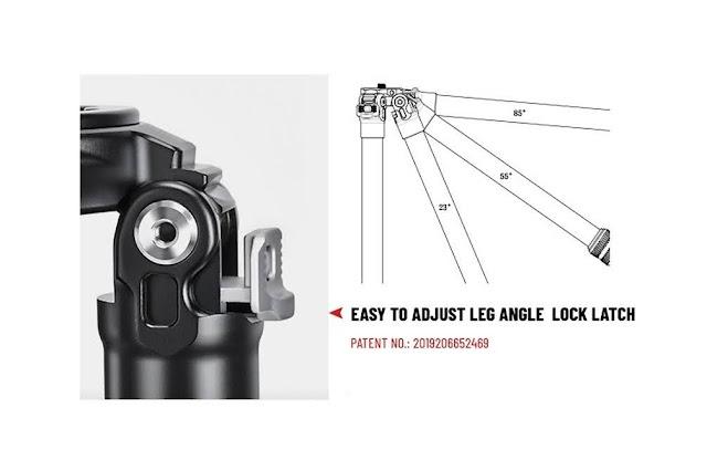 New patented semi automatic leg latches