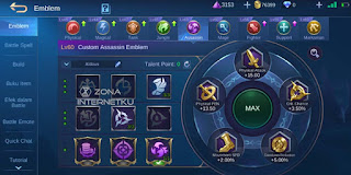 The sickest and strongest Granger emblem in the Mobile Legends Talent Killing Spree