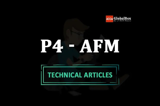 P4 - (AFM) - 2021 | ALL in One Technical Articles