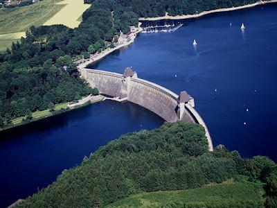 La presa del Möhnesee en la actualidad