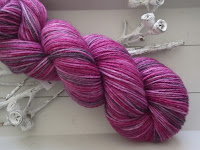 """GACILLY""... handgefärbte Wolle"