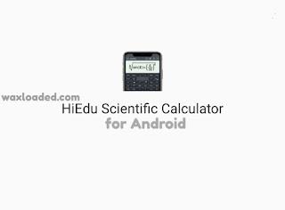 Hiedu Scientific calculator Apk for Android
