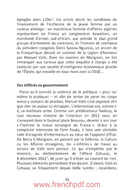 Bienvenue Place Beauvau: Le Secrets Inavouables d'un Quinquennant PDF Gratuit