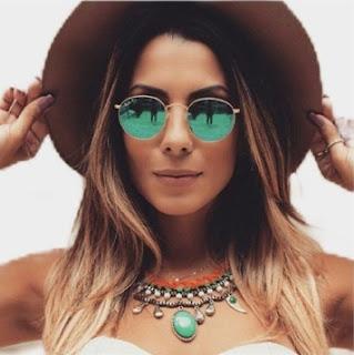 Óculos de Sol Feminino Ray Ban Round