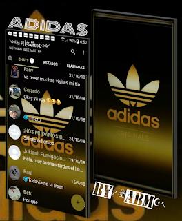 Adidas Theme For YOWhatsApp & Fouad WhatsApp By ALBERTO