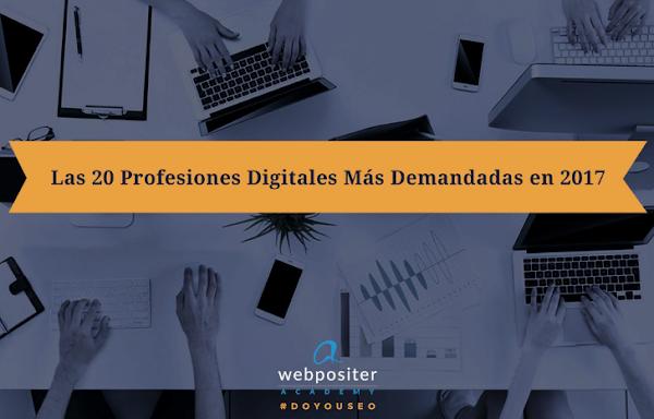 Profesiones Digitales más demandadas