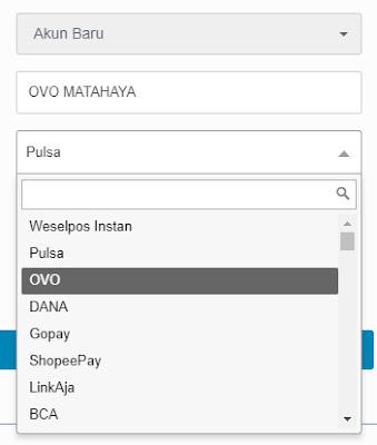 withdraw indodax ke dompet digital selain ovo