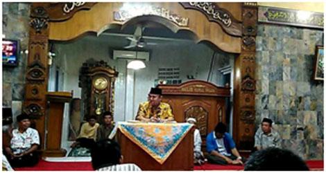 Wahyu :Safari Romadhan 1438H Merupakan Rangkaian Safari Anggota DPRD Padang  Priode 2014-2019