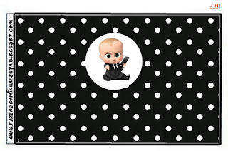 The Boss Baby Party Free Printable Candy Bar Labels.