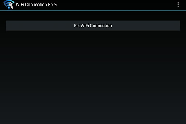 Wifi Connection Fixer app