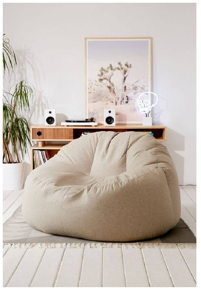 giant and big of  bean bag lounge chair outfitter with cheap money