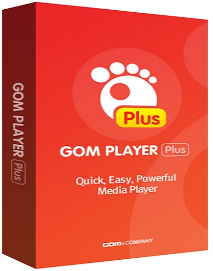 GOM Player Plus 2.3.51.5315 poster box cover