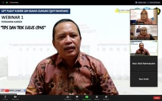 Pusat Karier UIN Bandung Gelar Seri Webinar Seminar Persiapan Kerja Tips dan Trik Lulus Ujian Masuk CPNS